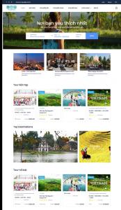 Thiết kế website nhà hàng – khách sạn